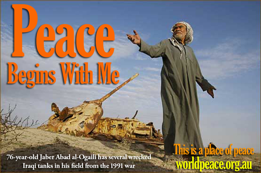 World Peace Association - Peace is Possible - Peace Begins With Me